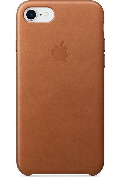 Daytona Apple iPhone 7/8 Deri Kılıf Kahverengi