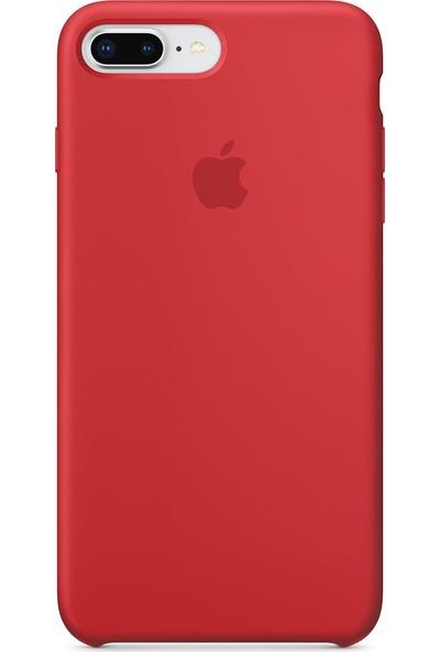 Daytona Apple iPhone 7/8 Plus Silikon Kılıf Kırmızı