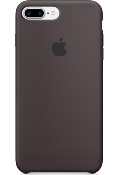 Daytona Apple iPhone 7/8 Plus Silikon Kılıf Açık Siyah