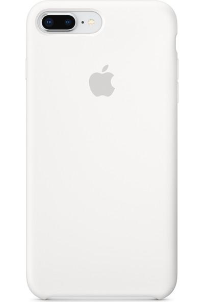 Daytona Apple iPhone 7/8 Plus Silikon Kılıf Beyaz