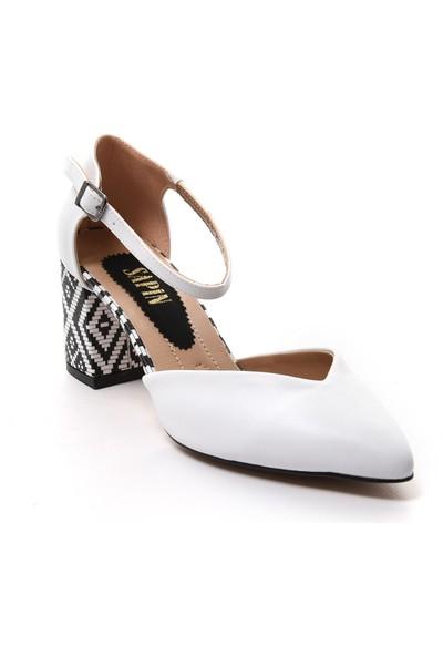 Sapin 23016 Kadın Topuklu Ayakkabı