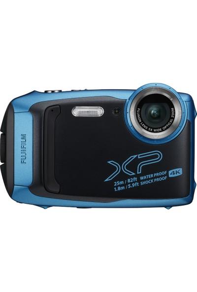 Fujifilm Finepix XP140 Sualtı Dijital Fotoğraf Makinesi ( Gök Mavi )
