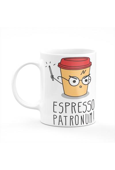 Cupgel Harry Potter - Espresso Patronum Baskılı Kupa
