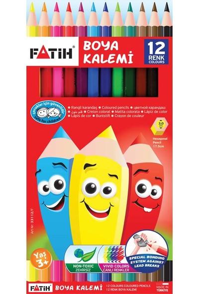 Fatih 12 Renk Uzun Kuruboya 12 Li