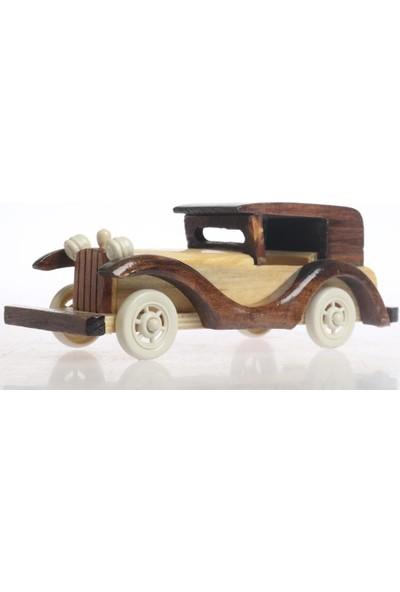 Sağlam Dekoratif Klasik Model Ahşap Araba Asorti