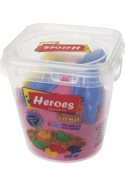 Heroes Kinetik Kum 500 Gr