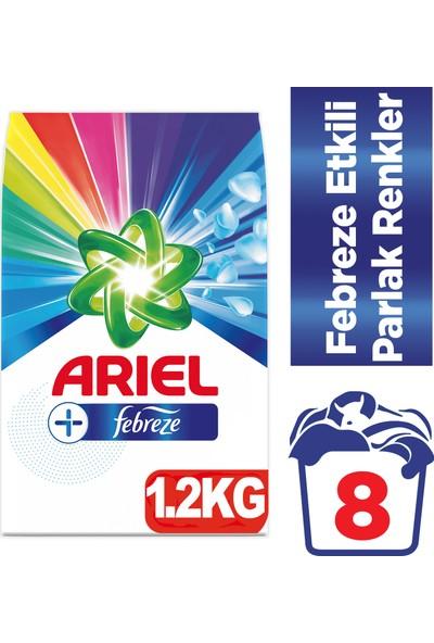Ariel Plus 1,2 kg Toz Çamaşır Deterjanı Febreze Etkili Parlak Renkler