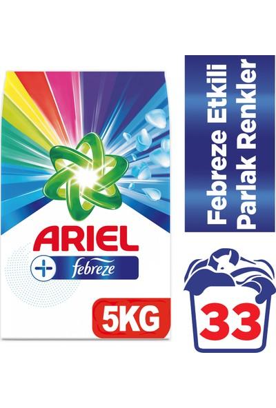 Ariel Plus 5 kg Toz Çamaşır Deterjanı Febreze Etkili Parlak Renkler