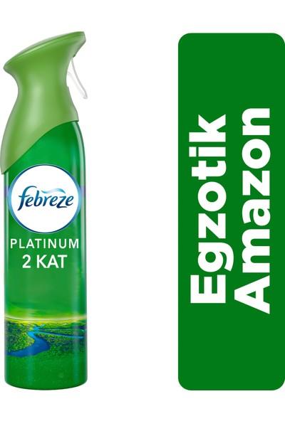 Febreze Platinum Hava Ferahlatıcı Sprey 300 ml Oda Kokusu Egzotik Amazon