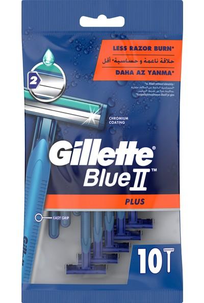 Gillette Blue2 10'lu Plus Kullan At Tıraş Bıçağı