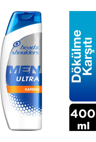 Head & Shoulders Men Ultra 400 ml Saç Dökülmelerine Karşı Erkeklere Özel Şampuan