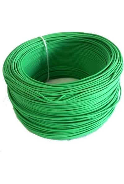 Electroon 0,22MM Çok Damarlı Montaj Kablosu 100MT Yeşil