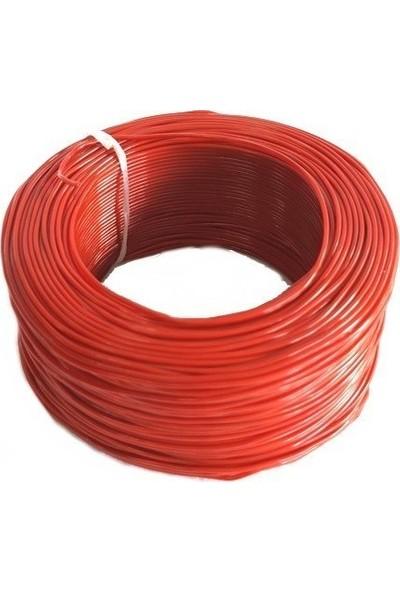 Electroon 0,22MM Çok Damarlı Montaj Kablosu 100MT Kırmızı