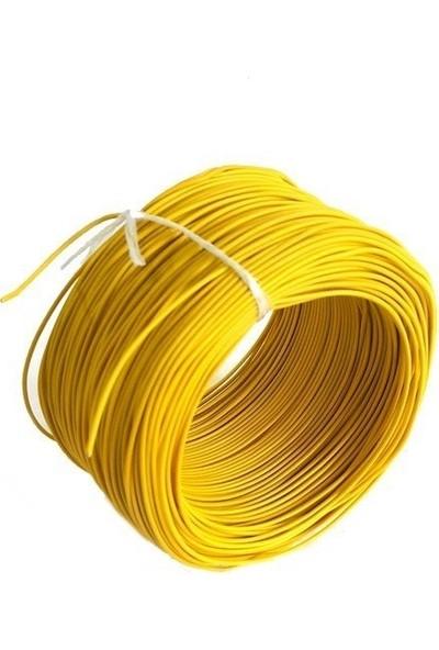 Electroon 0,22MM Çok Damarlı Montaj Kablosu 100MT Sarı