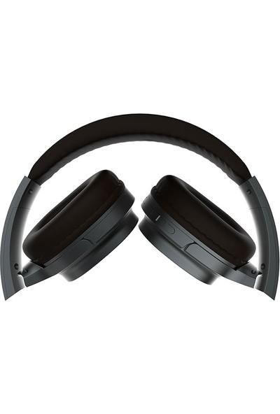 Snopy SN-BT30 Canto TF Kart Özellikli Bluetooth Kulaklık Gri