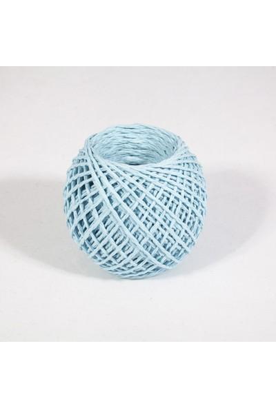 Rocopaper Kağıt Ip - Bebek Mavi 50 Metre - 32 Gr.