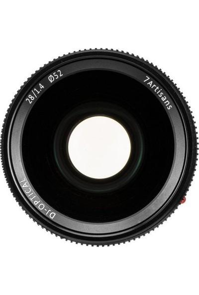 Artisans 28MM F1.4 Leica Full Frame Lens