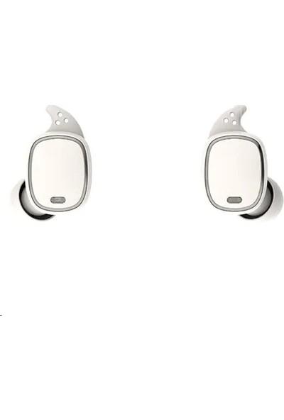 Qcy T1 Pro Spor Kulakiçi Bluetooth Kulaklık - Beyaz