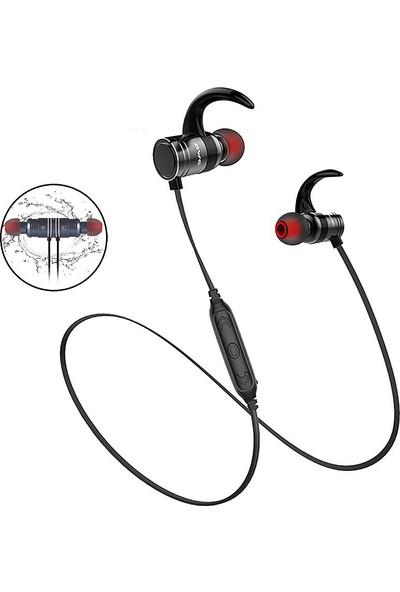 Awei Ak7 Kablosuz Bluetooth Mikrofonlu Kulaklık Siyah
