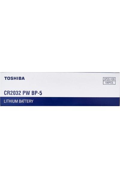 Toshiba Cr 2032 3V Lithium 100'LÜ Özel Pil Paketi