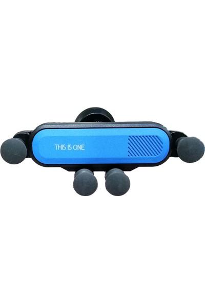 Ceplike Ahtapot Araç İçi Telefon Tutucu - Mavi