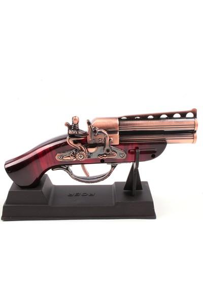 Roer 1801 Korsan Silahı Görünümlü Masa Üstü Çakmak