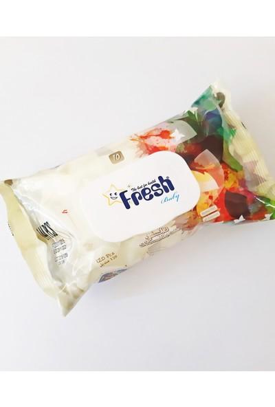 Fresh Baby Islak Mendıl 24 Adet 120Lİ 2880 Yaprak Kapaklı