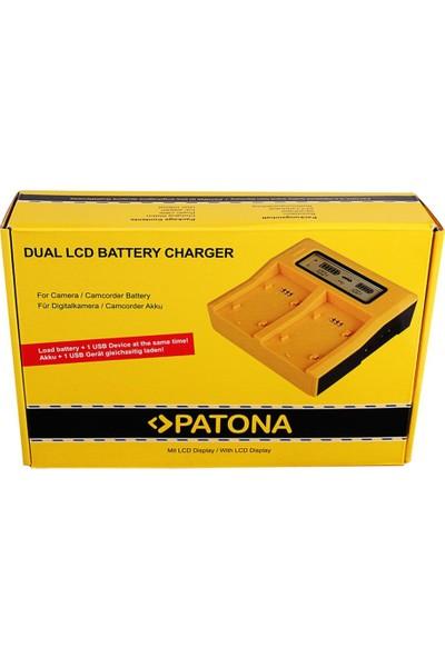 Patona Dual Şarj Aleti ( Fujifilm NP-W126S Batarya Uyumlu )