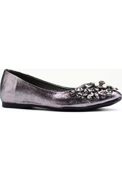 Nellson Jackson Ballerina Hercai Renk Comfort Babet Kadın Ayakkabı