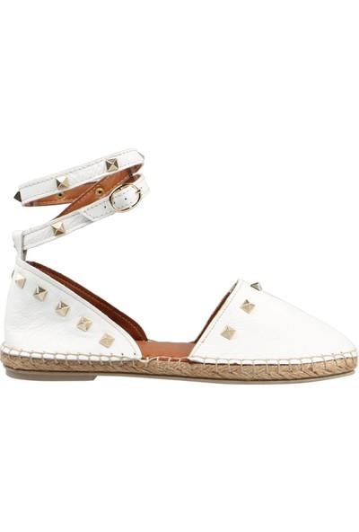 Hammer Jack Beyaz Kadın Ayakkabı 195 1675-Z
