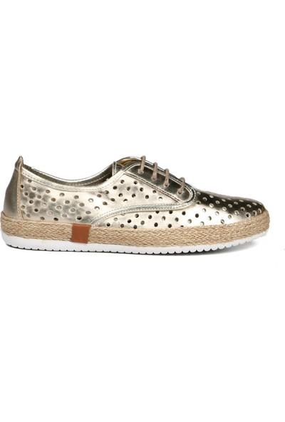 Hammer Jack Altın Derı Kadın Ayakkabı 236 10129-Z