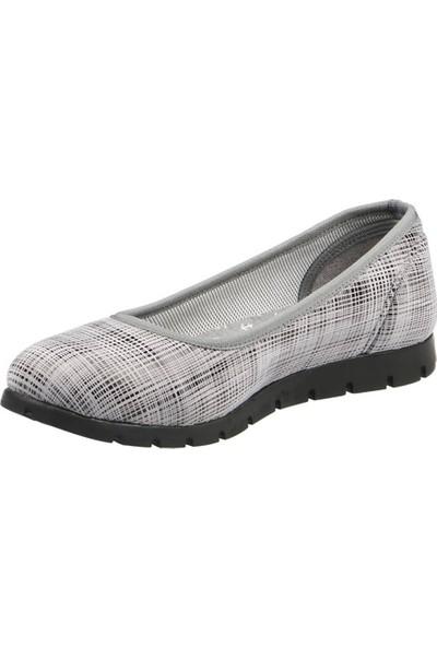 Hammer Jack Gri Kadın Ayakkabı 287 5859-1-Z