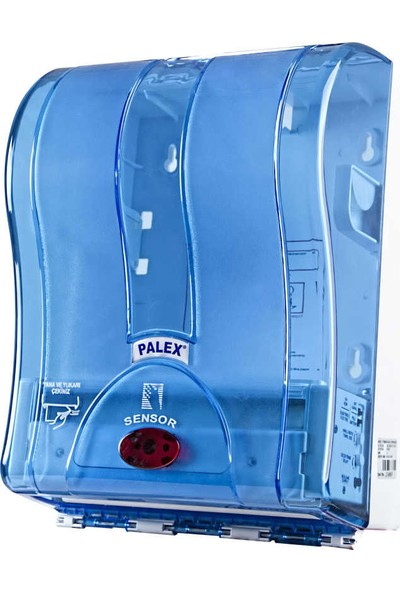 Palex 3491-1 21 Cm Otomatik Havlu Dispenseri Şeffaf