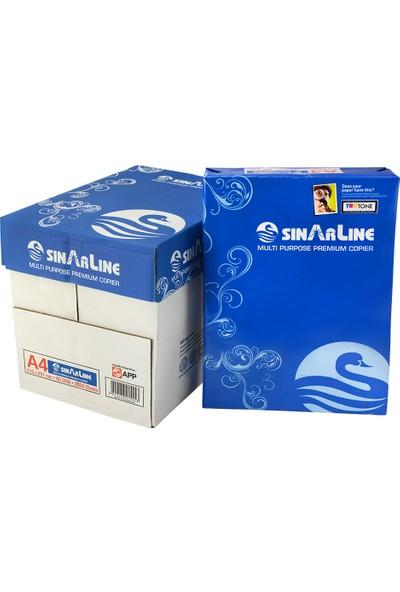 Sinar Line A4 Fotokopi Kağıdı 80 gr 1 Koli (5 Paket & 2500 Sayfa)