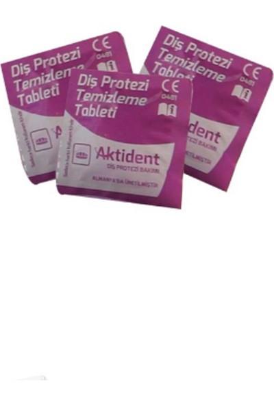 Aktident Diş Protezi Temizleme Tableti