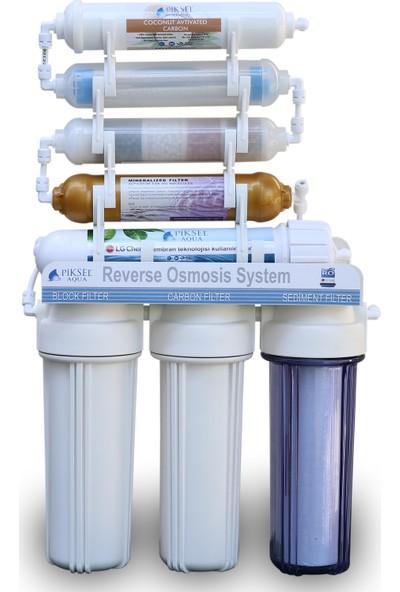 Lg Membran Teknolojisiyle Üretilmiş 11 Aşamalı Su Arıtma Cihazı