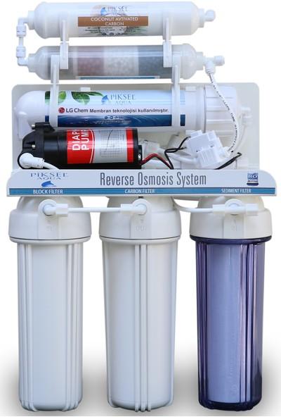 Lg Membran Teknolojisiyle Üretilmiş 9 Aşamalı Pompalı Su Arıtma