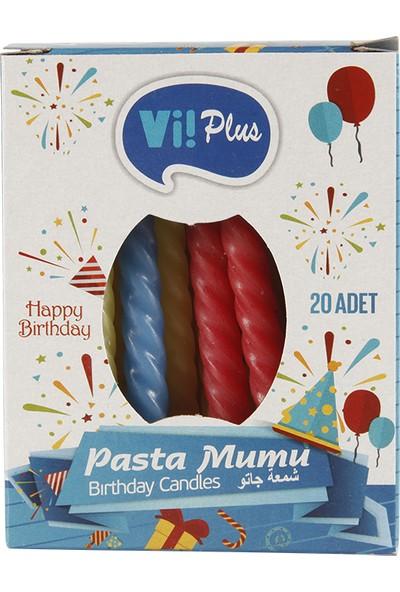 Vi! Plus Pasta Mumu 20 li Paket 8,5 cm