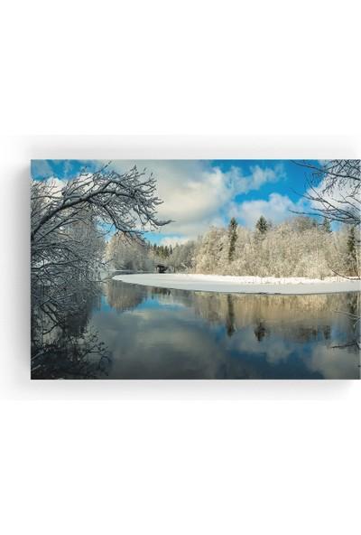 Tablo365 Kış Manzarası Kanvas Tablo TB-5561