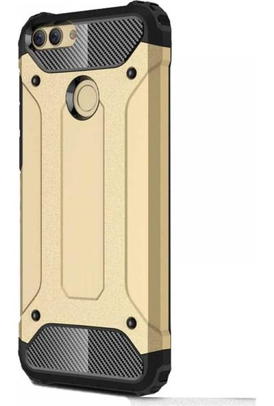 Antdesign Huawei P Smart Crash Serisi Dayanıklı Kılıf Gold