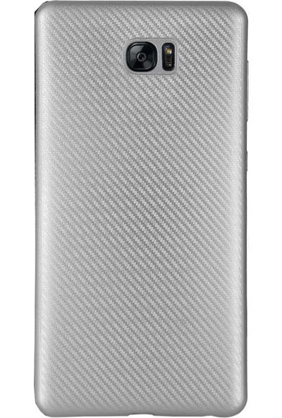 Antdesign Samsung Galaxy S7 Edge Karbon Carbon Soft Kılıf Gri