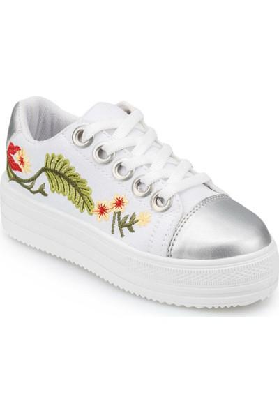 Polaris 91.511429.F Beyaz Kız Çocuk Ayakkabı