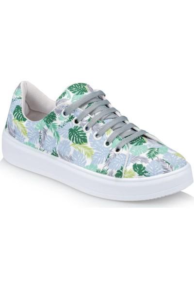 Polaris 91.313415.Z Mavi Kadın Sneaker Ayakkabı