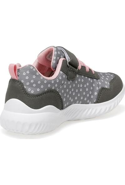 I Cool Cuba Gri Kız Çocuk Yürüyüş Ayakkabısı
