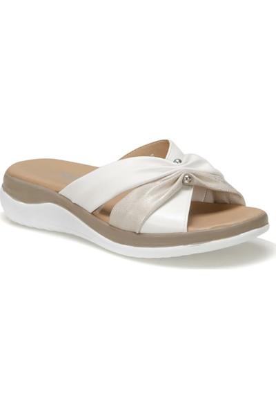 Polaris 91.150933.Z Altın Kadın Sandalet