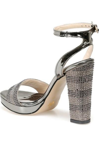 Butigo Moss52Z Rugan Açık Sarı Kadın Sandalet