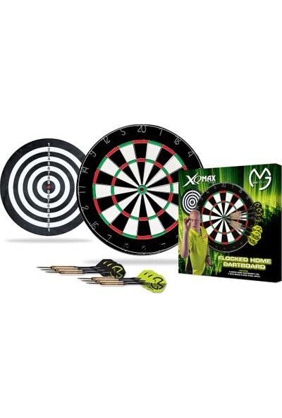 XQ Max QD4000010 Michael van Gerwen 2 cm Dart Tahtası ve Dart Oku Seti