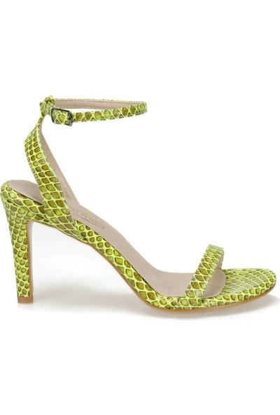 Butigo Koro47Z Cilt Sarı Kadın Sandalet