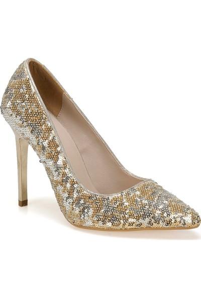 Butigo 19Sf-190805Y Rugan Altın Kadın Ayakkabı