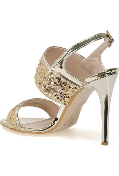 Butigo 19Sf-190905Y Rugan Altın Kadın Sandalet